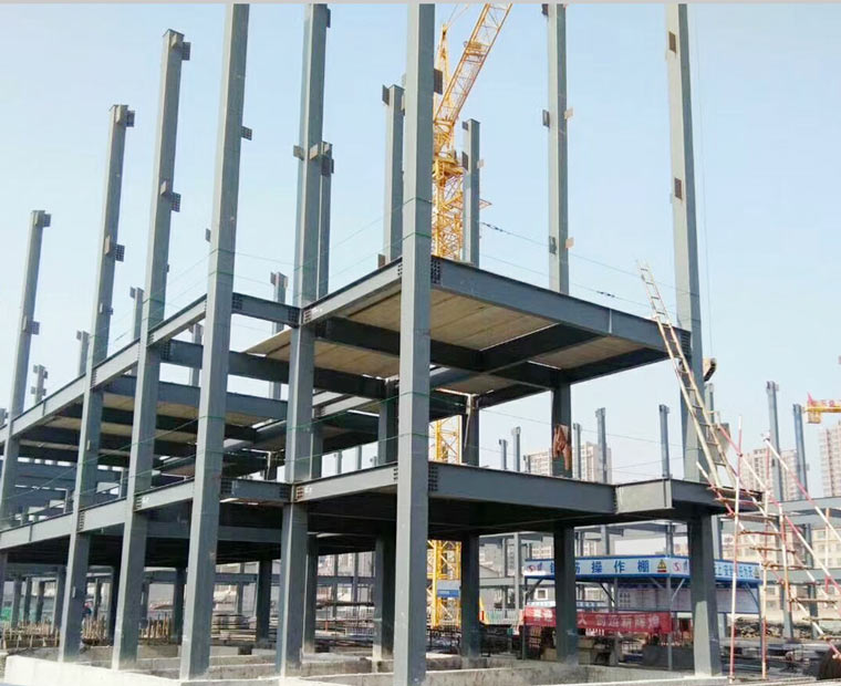 Steel commercial building high rise steel structure hotel bu